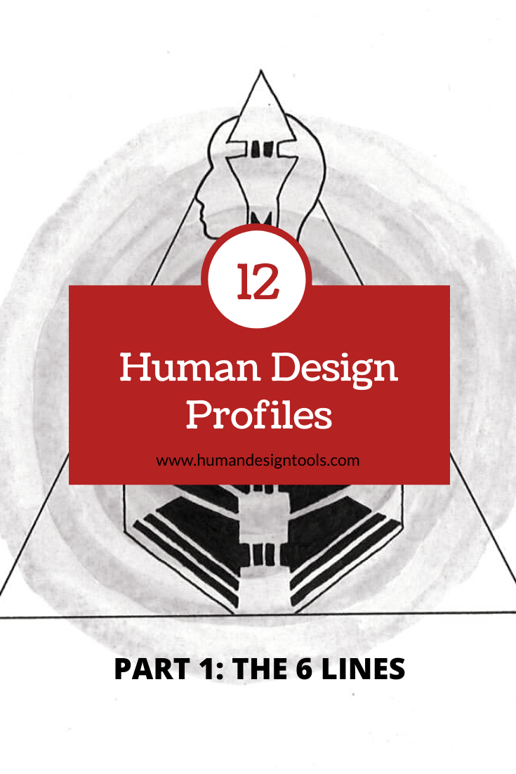 Human Design Profile  – The 6 Lines